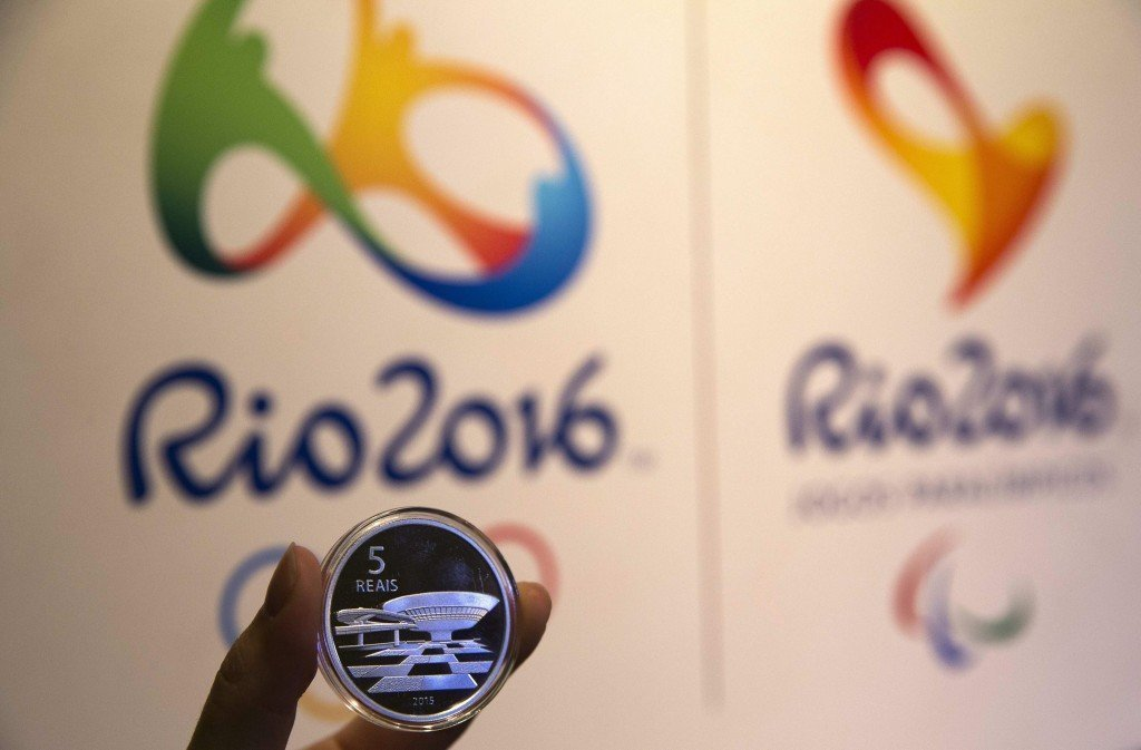 Rio 2016 Olympics commemorative coins