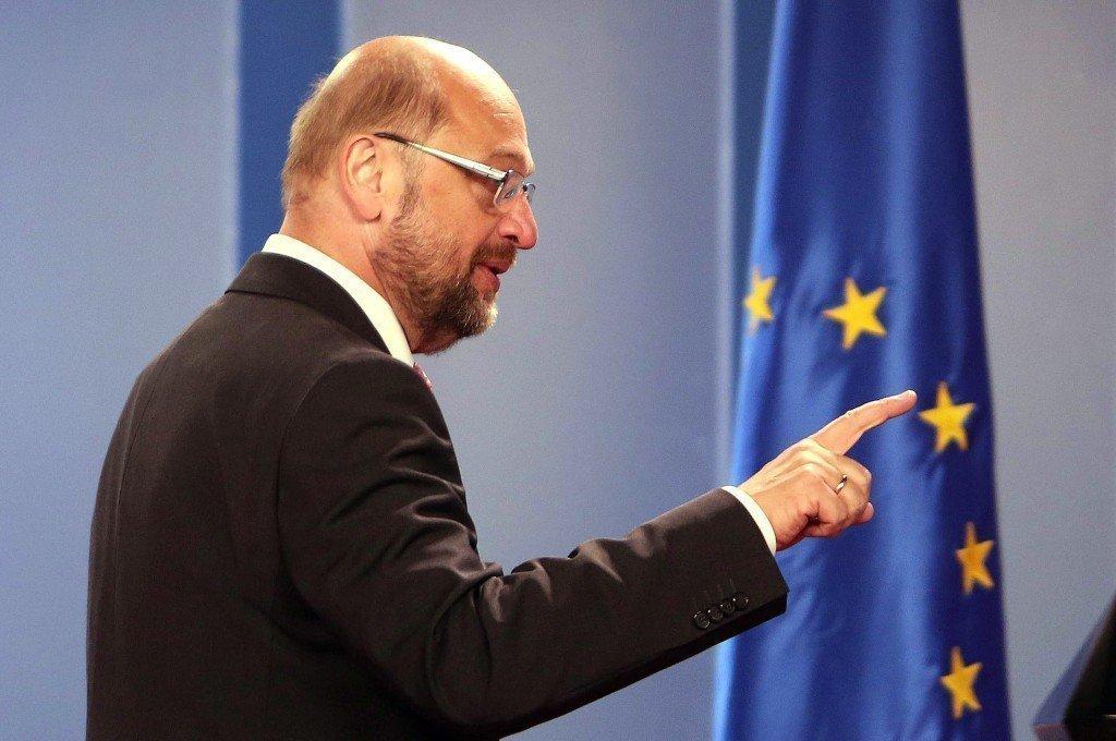 EUROPEAN PARLIAMENT MARTIN SCHULZ