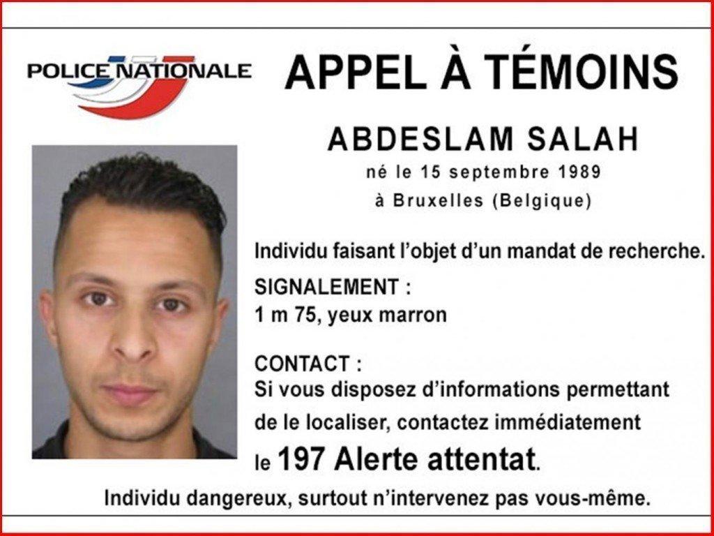 paris police  Salah Abdeslam