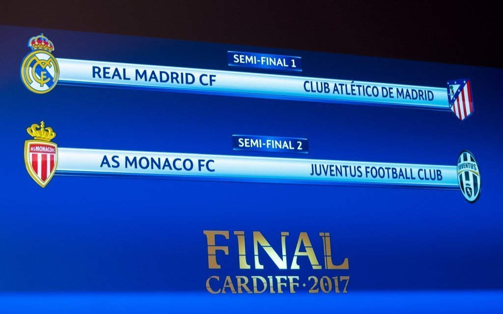 UEFA Champions League semi-final draw