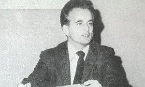 Ο εφοπλιστής Ανδρέας Ποταμιάνος, οικονομικός χορηγός του Γρίβα