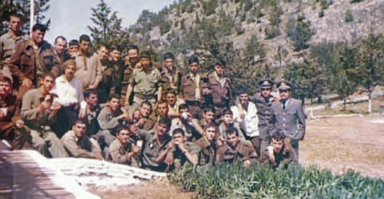 Έδρα 2ου Λόχου, Αλωνάγρα 1974