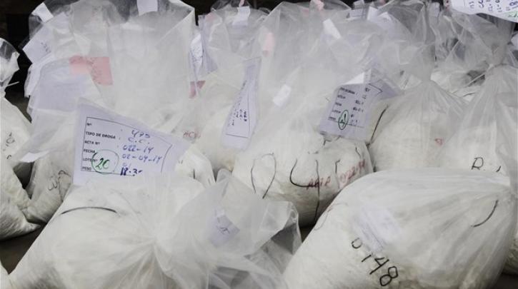 Σε επίπεδα ρεκόρ η διαθεσιμότητα και κατασχέσεις κοκαΐνης στην Ευρωπαϊκή Ένωση