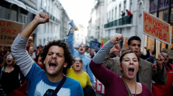 portugal-general-strike Πορτογαλία: Τετραήμερη απεργία των εκπαιδευτικών με αίτημα το ξεπάγωμα των μισθών τους