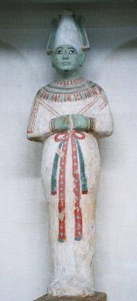 Ειδώλιο του Όσιρι, Αιγυπτιακό Μουσείο Αρχαιοτήτων, Κάιρο.