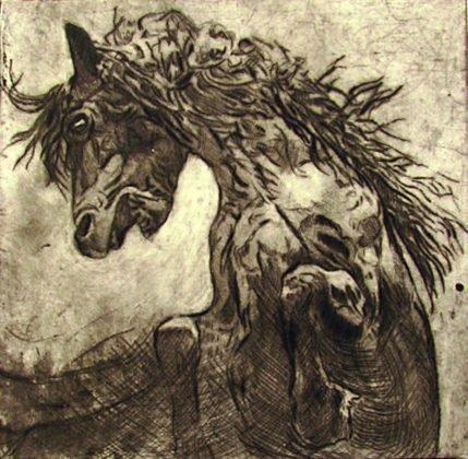 Νικολέτα Αλεξανδράκη Horses Iii