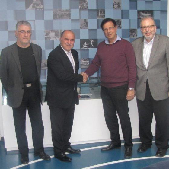 Συνάντηση Προέδρου ΚΟΑ με την Αθλητιατρική Εταιρεία Κύπρου