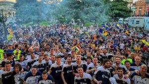 Ναζιστικοί πανηγυρισμοί από τους οπαδούς της Ελλάς Βερόνα