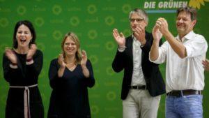Γερμανία: Εκτοξεύονται οι Πράσινοι μετά τις ευρωεκλογές – Πνέει τα λοίσθια ο κυβερνητικός συνασπισμός