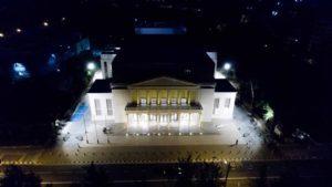 Συγκινημένη η Δέσποινα Μπεμπεδέλη για το ανανεωμένο Δημοτικό Θέατρο Λευκωσίας – Είναι ένας ναός τέχνης