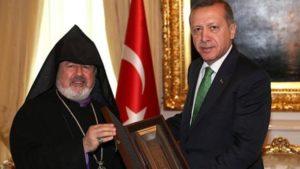 Ο Αρμένιος Πατριάρχης στηρίζει τον τουρκικό στρατό