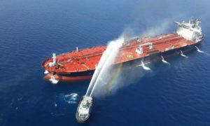 Πυρκαγιά μετά από έκρηξη σε ιρανικό τάνκερ
