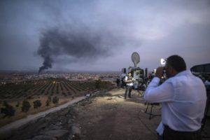 Δεκαοκτώ άνθρωποι σκοτώθηκαν από την βομβιστική επίθεση στην πόλη Αλ Μπαμπ