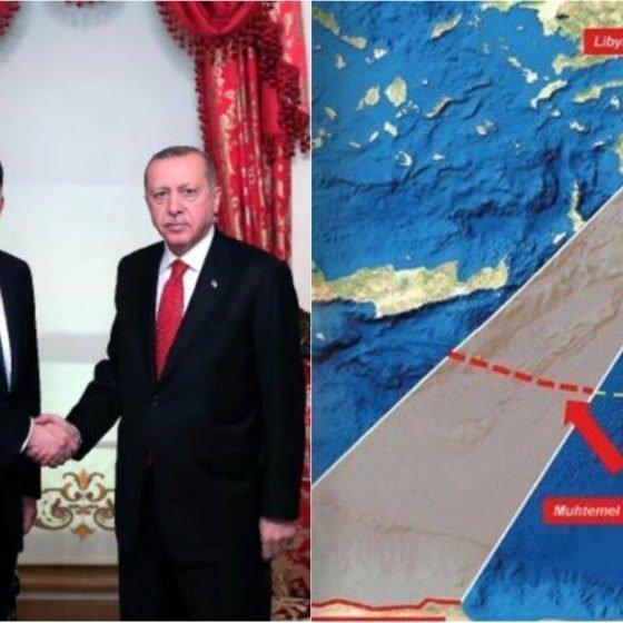 Ερτογάν: Ανακοίνωσε έρευνες για υδρογονάνθρακες στην περιοχή συμφωνίας Τουρκίας – Λιβύης