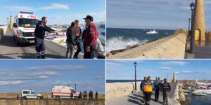 Εντοπίστηκε η σορός του 25χρονου που έπεσε στη θάλασσα στην Κερύνεια