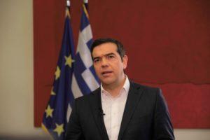 Τη θετική ψήφο του ΣΥΡΙΖΑ στην Α. Σακελλαροπούλου ανακοίνωσε ο Αλέξης Τσίπρας