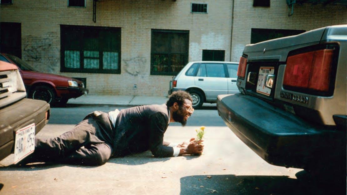 1. William Pope L. Tompkins Square Crawl 1991