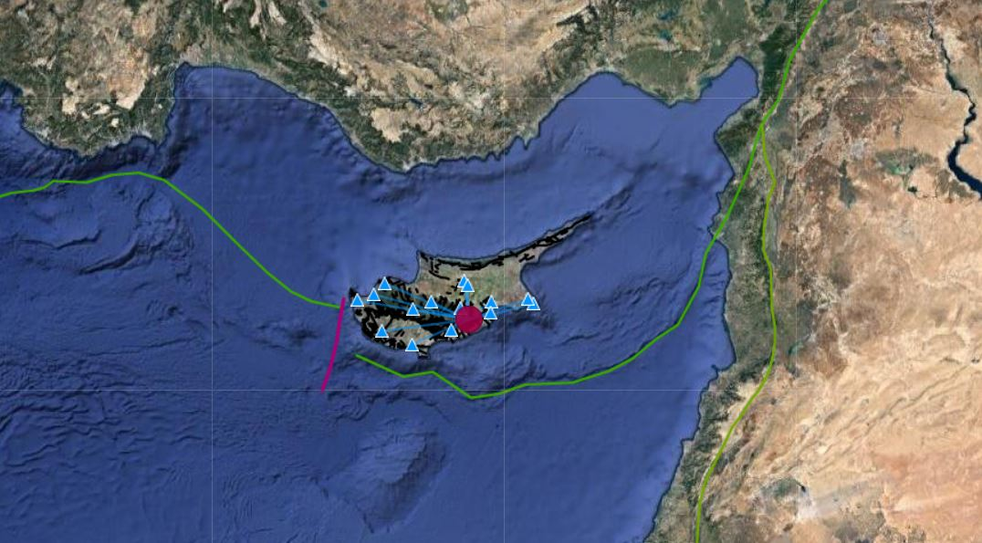 2,4 ρίχτερ ο σεισμός που έγινε αισθητός στην Λάρνακα – Η ενημέρωση από το Τμ. Γεωλογικής Επισκόπησης