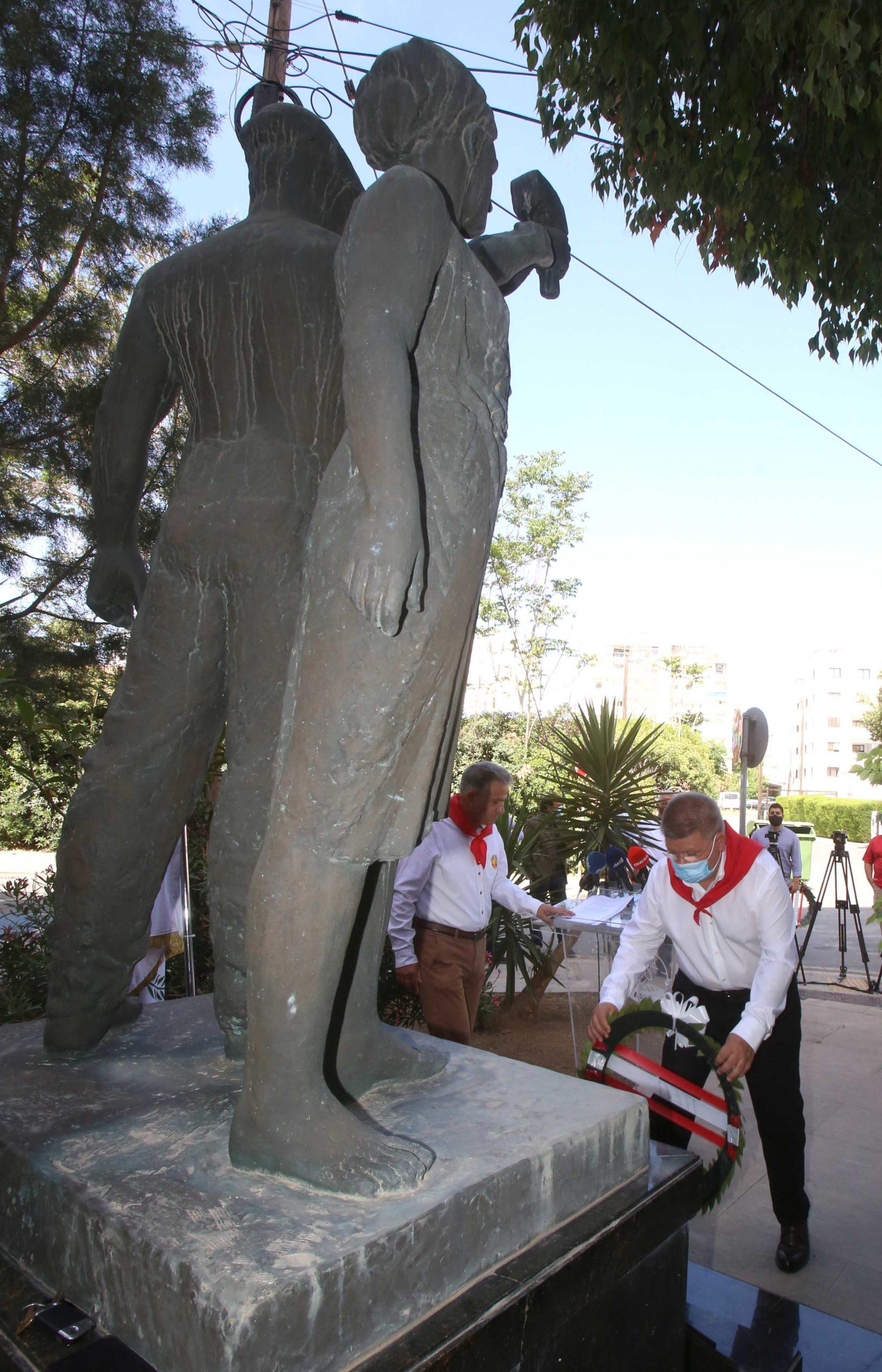 ΠΕΟ Συμβολική εκδήλωση για την Εργατική Πρωτομαγιά PROTOMAGIA PEO AKEL 13 scaled