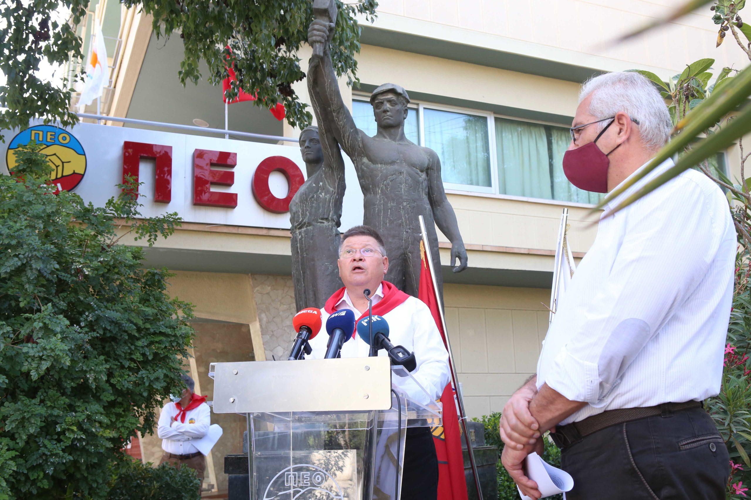 ΠΕΟ Συμβολική εκδήλωση για την Εργατική Πρωτομαγιά PROTOMAGIA PEO AKEL 22 scaled