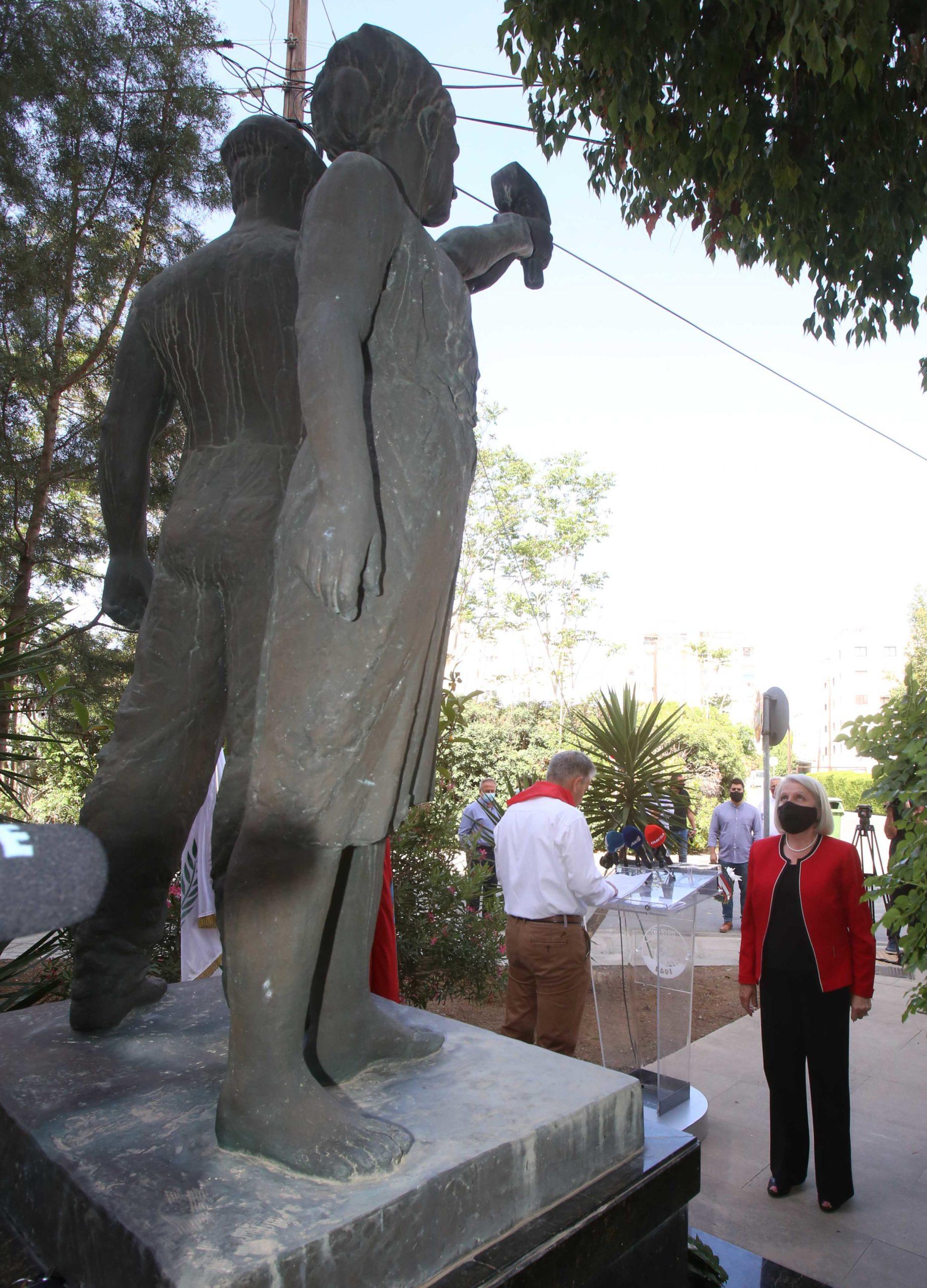 ΠΕΟ Συμβολική εκδήλωση για την Εργατική Πρωτομαγιά PROTOMAGIA PEO AKEL 7 scaled