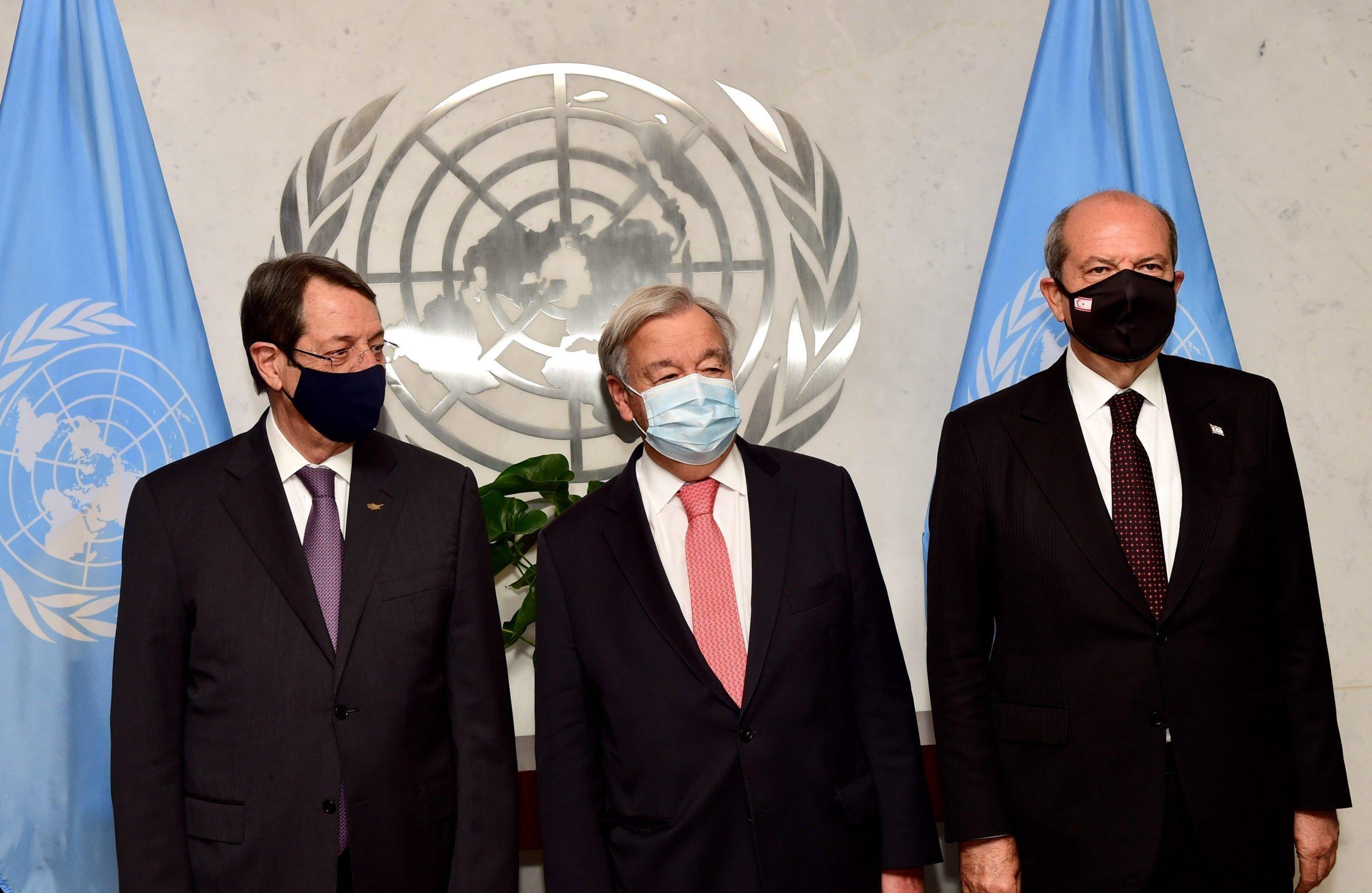 Να εξερευνήσει νέες ιδέες ο ΓΓ του ΟΗΕ, ελπίζει ο Τατάρ